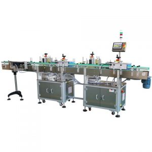 Automatisk Vegeltable Box Top Surface Labelling Machine
