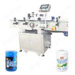 Hot salg automatisk rund flaske klistermærke maskine