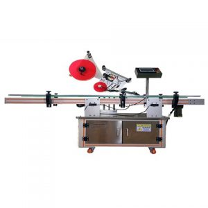 Automatic Adhesive Sticker Labeling Machine For Leno Bag