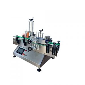 Automatic Sticker Sachet Labeling Machine With Feeder