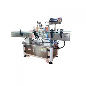 Automatisk Yoghurt Cup Top Surface Labelling Machine Producent