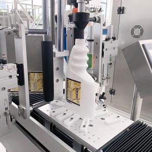 Horizontal Wrap Around Auto Labeling Machine