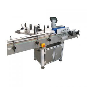 Full Auto Round Box Top Labeling Machine