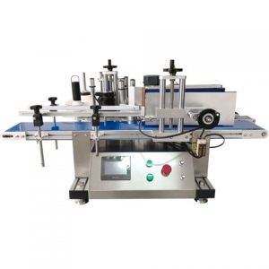 Tape Labeling Machine Lid Labeling Machine