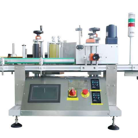 plastic mineral water bottle labeling machine with transparent sensor...