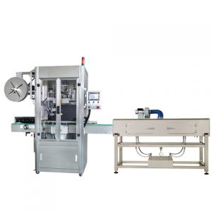 Powder Box Top Sticker Labeling Machine