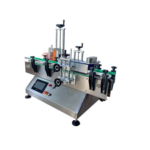 Instructions on how to operate automatic top labeling machine for...