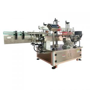 Automatic Front Back Red Wine Bottle Labeling Machine