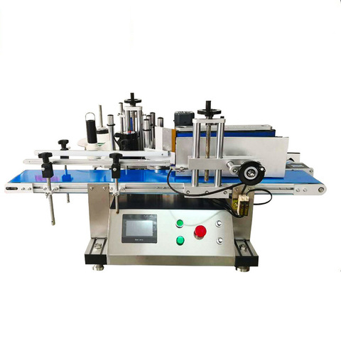 Semi-automatic labelling machine for the adhesive labelling of...