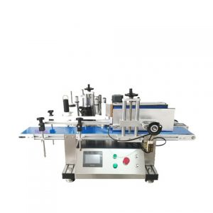 Round Cans Top Sides Labeling Machine