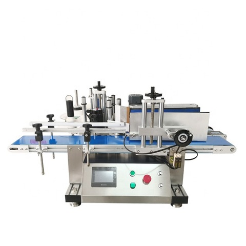 Automatic side labeling machine bottle labeling machine cup...
