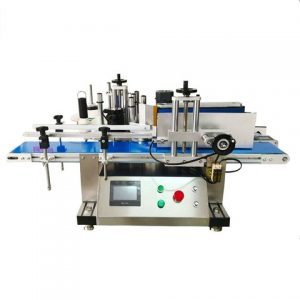 Sesame Oil Bottle Two Sides Sticker Labeling Machine