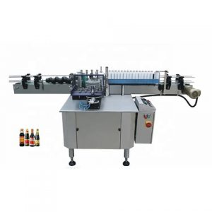 Automatic Capsules Bottle Labeling Machine With Code Printer