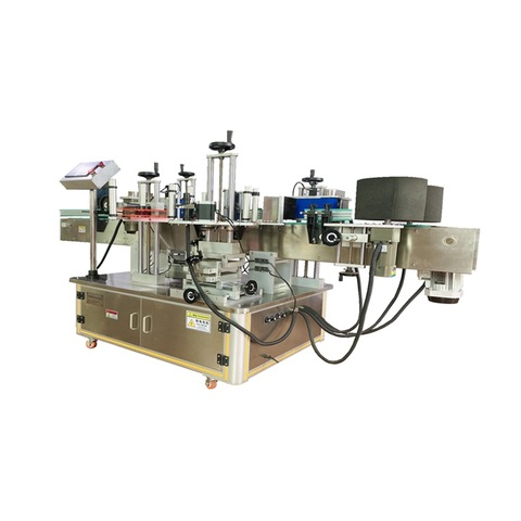 Automatic cell preservation solution liquid filling capping labeling line...