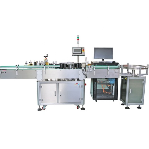 Rotary Sticker Labeling Machine India - Front and Back ...
