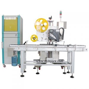 Automatic Paging Flat Labeling Machine