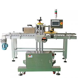 Automatic Aluminum Cigar Tube Labeling Machine