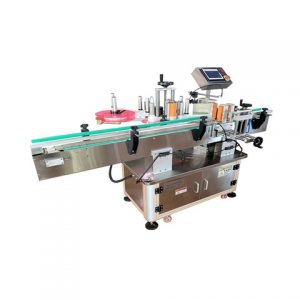 Cosmetic Case Round Wash Care Label Printing Machine