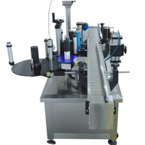 Auto Adhesive Sticker Labeling Machine For Round Bottle