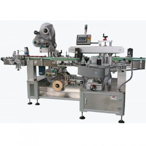 Full Automatic Front Back Square Bottle Labeling Machine