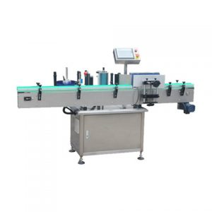 Garbage Bag Roll Wrap Sticker Labeling Machine