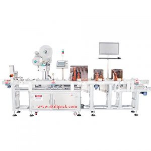 Horizontal Fast Aluminium Tube Labeling Machine