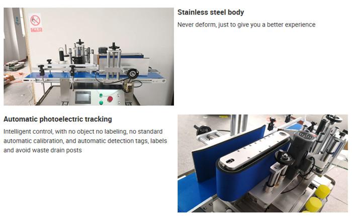 Oplysninger om automatisk maskine til bordflaskemærkning