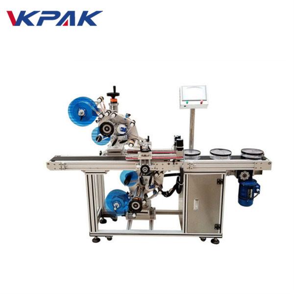 Automatisk top og bund flad mærkning maskine